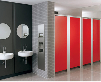 bathroom cubicles