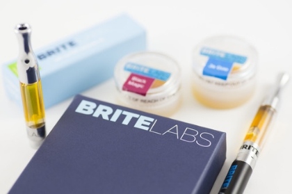 CO2 Vape Cartridges provided by Brite Labs! Flavors in stock are Headband (S), Ja Goo (I), and Holy Grail (H).