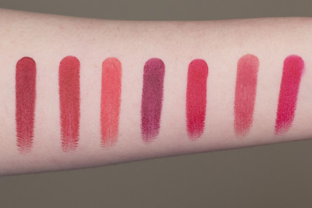 Marc Jacobs Le Marc Lip Creme Swatches