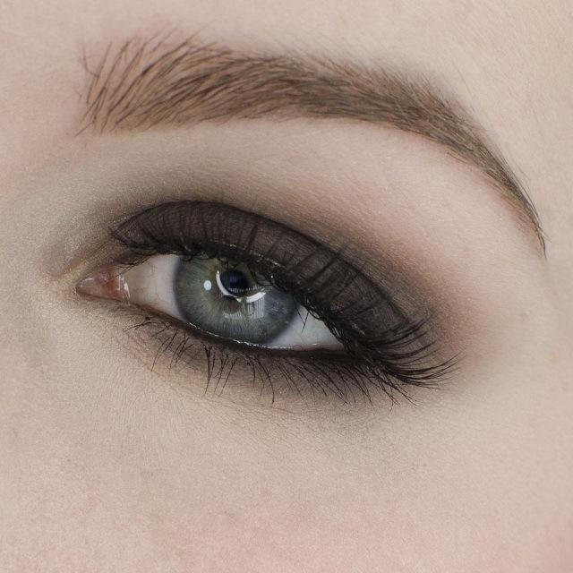 Basic Matte Smokey Eyeshadow Tutorial