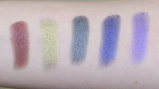 Review of the Makeup Geek Foiled Eyeshadows
