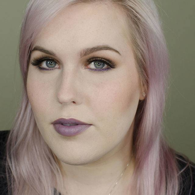 Pop of Purple Using Too Faced Chocolate Bar Palette Tutorial