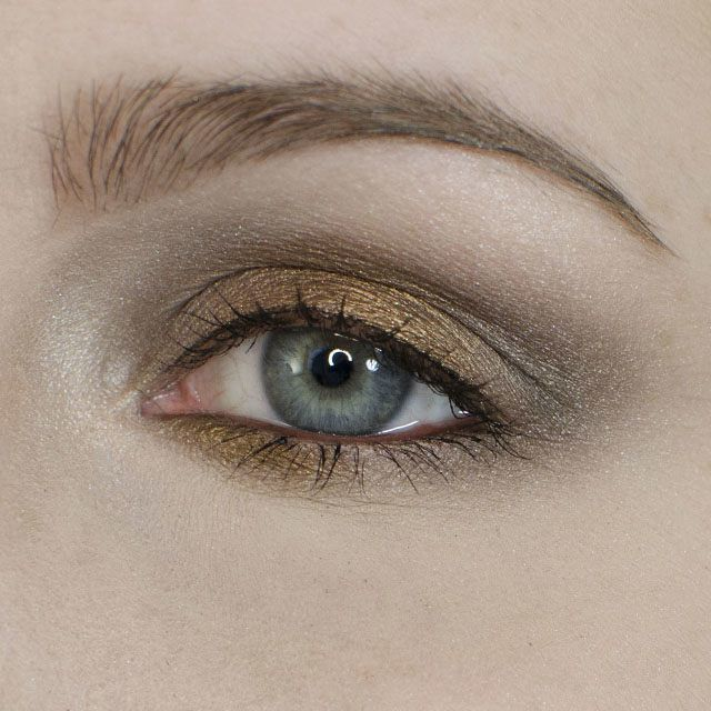 Metallic Holiday Party Eyeshadow Tutorial