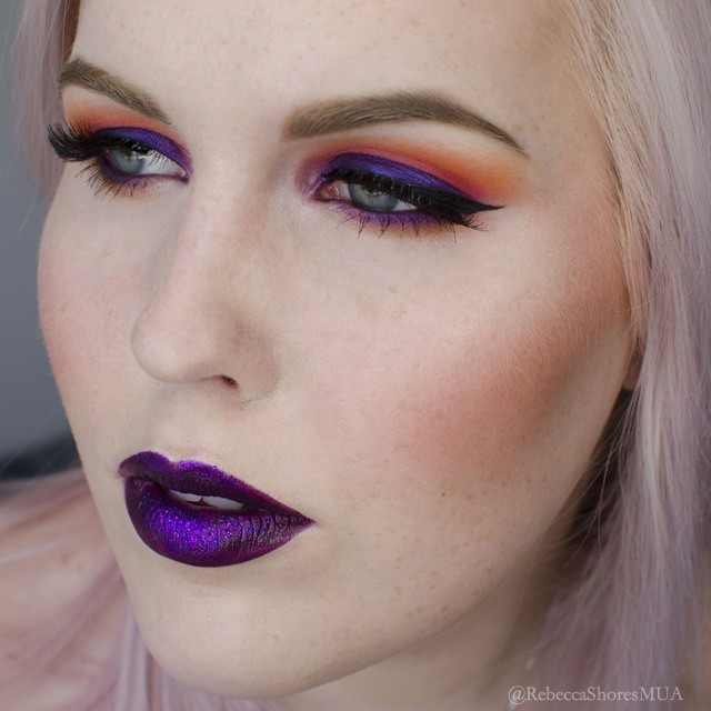 How to Apply Sunset Inspired Eyeshadow Tutorial ...