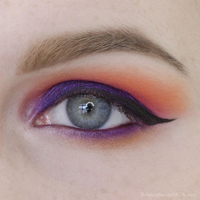 How to Apply Sunset Inspired Eyeshadow Tutorial
