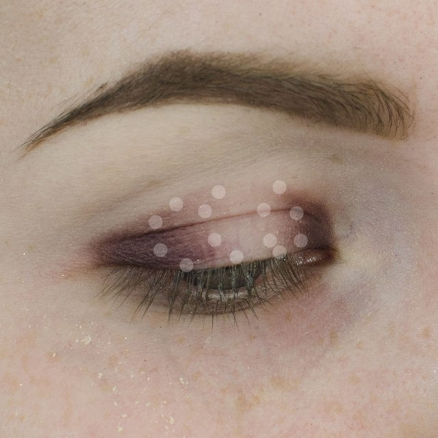 Champagne and Purple Halo Eyeshadow Tutorial