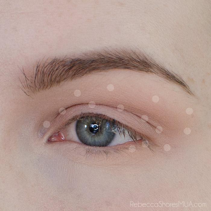 Burgundy and Gold Eyeshadow Tutorial