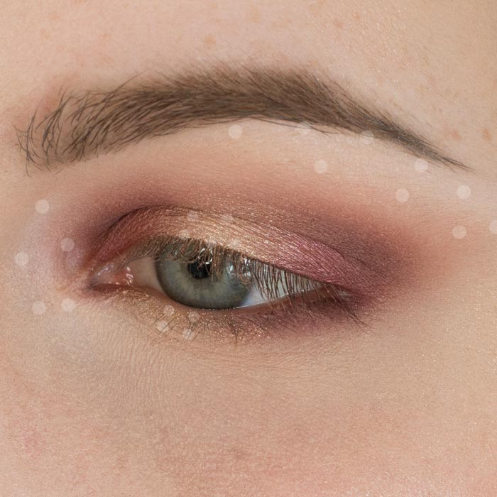 Plum and Champagne Halo Eyeshadow Tutorial