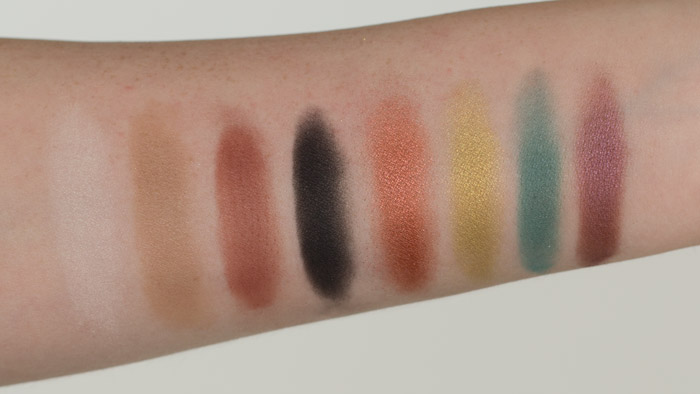 Saucebox Batalash Palette Swatches and Comparisons