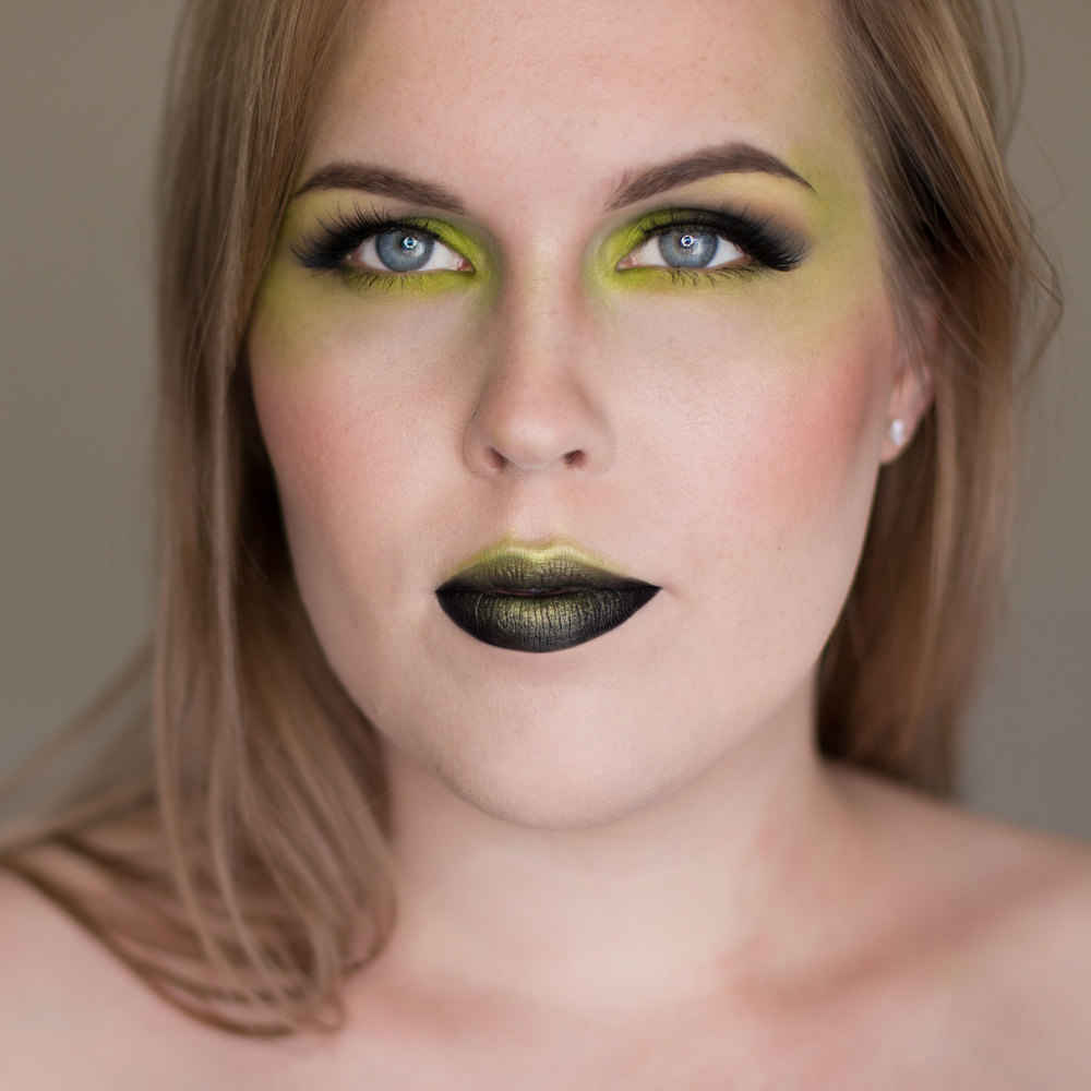 A Pop of Color wth Acid Green Look