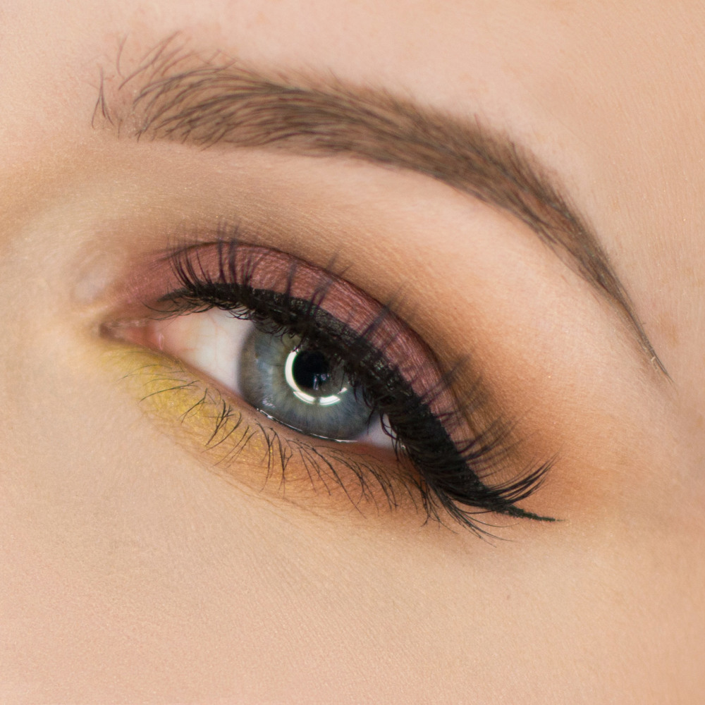 Batalash Palette Purple with Green Accent Eyeshadow Tutorial