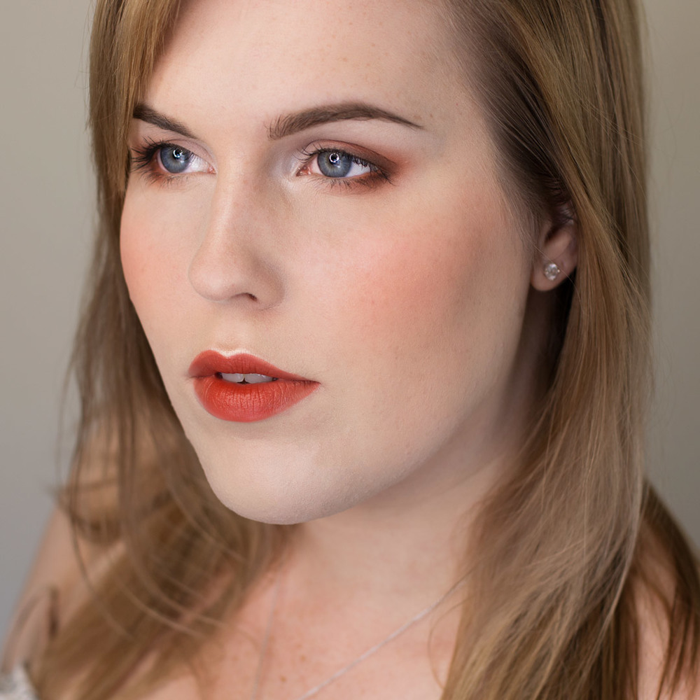 Burnt Orange Eyeshadow Tutorial Using Indie Makeup
