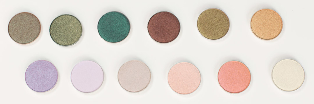 Makeup Geek Duochrome Eyeshadow Swatches