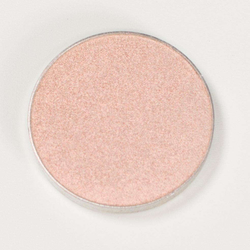 Makeup Geek Duochrome Eyeshadow Swatch I'm Peachless
