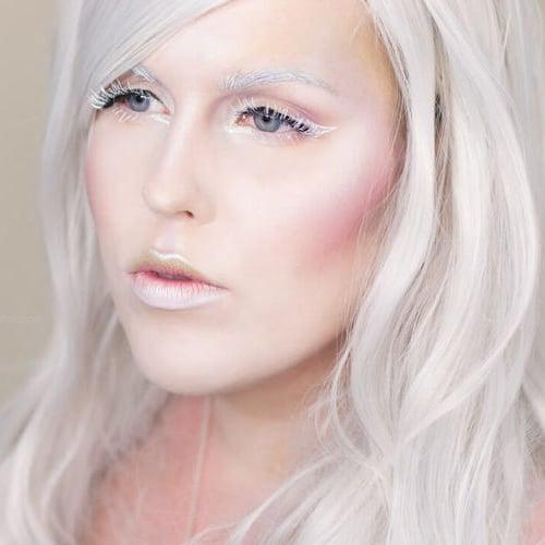 Queen of Light Halloween Makeup Tutorial