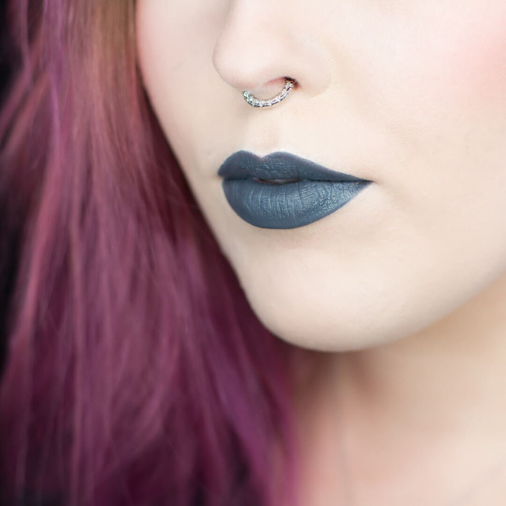Nyx Cosmetics Lip Suede in Stone Fox