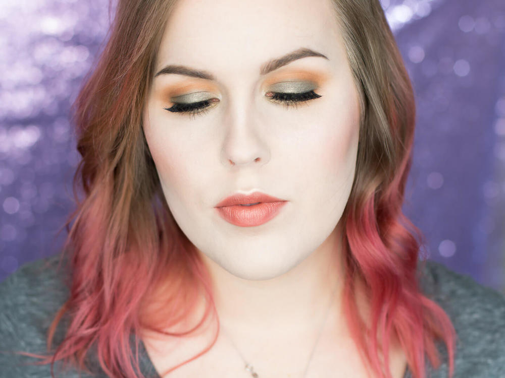 Olive Green, Mustard and Gold Toned Eye Shadow Tutorial