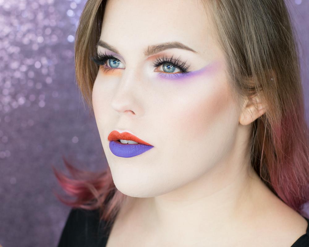 two-toned-eyeshadow-makeup-inspiration