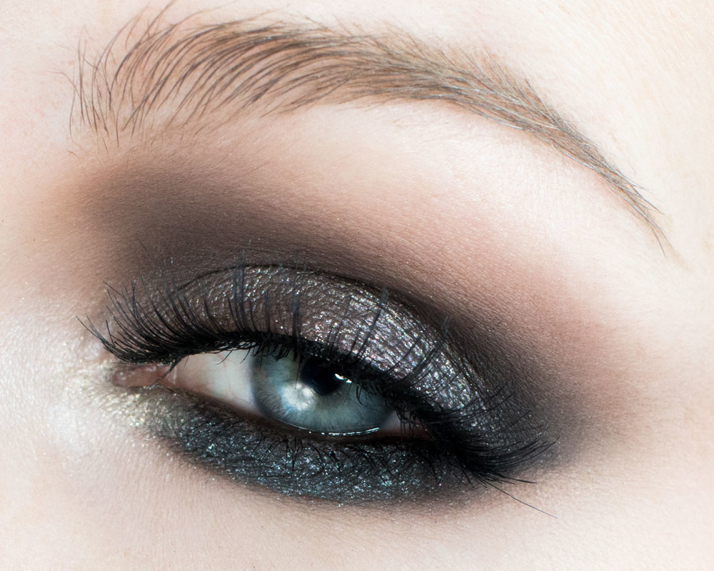 Melt Cosmetics Gun Metal Metallic Eye Makeup Tutoria