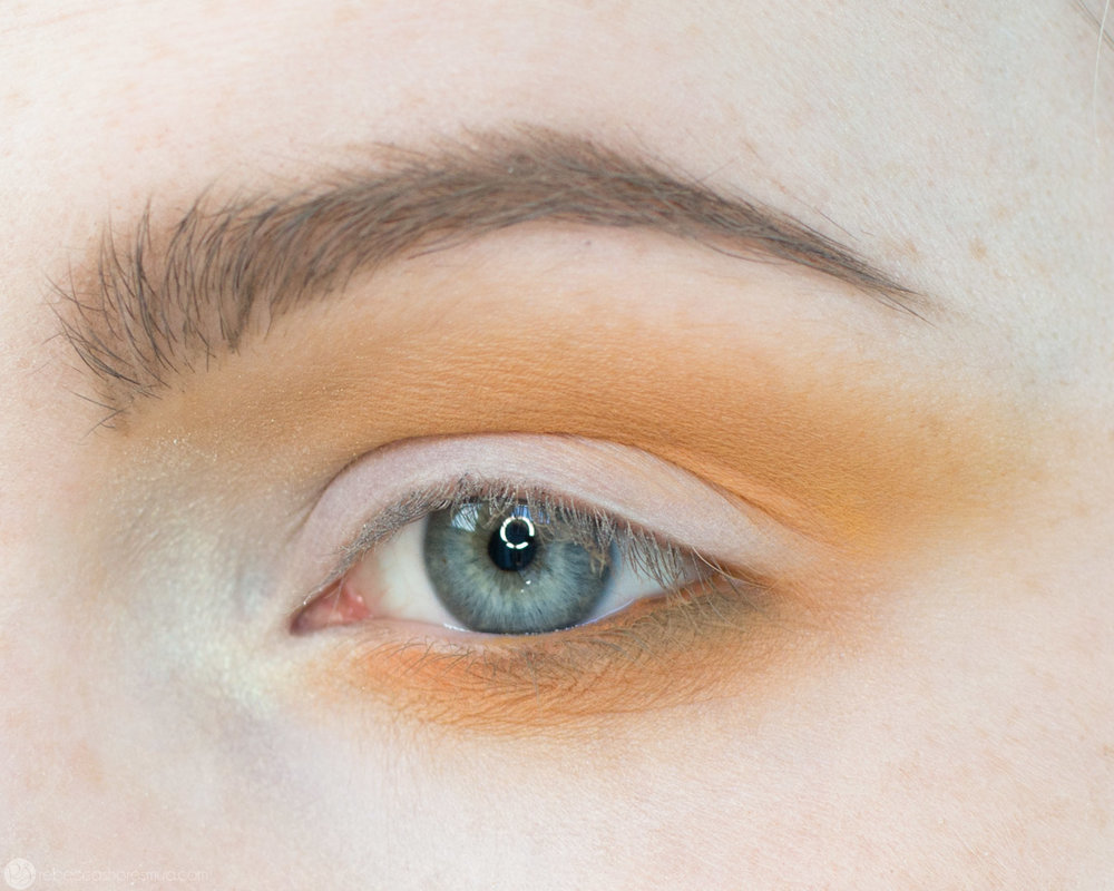 Orange and Yellow Eyeshadow Tutorial with Anastasia Beverlyhills Subculture Palette 6