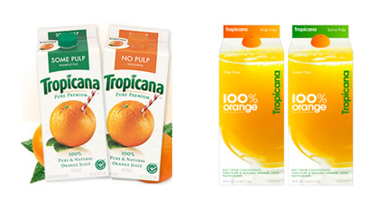 Tropicana Rebrand
