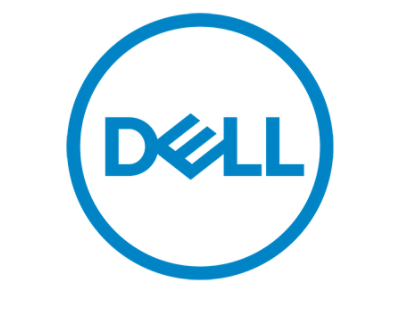 New dell logo
