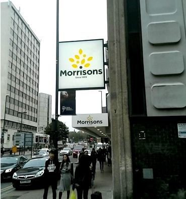 Morrisons new logo out