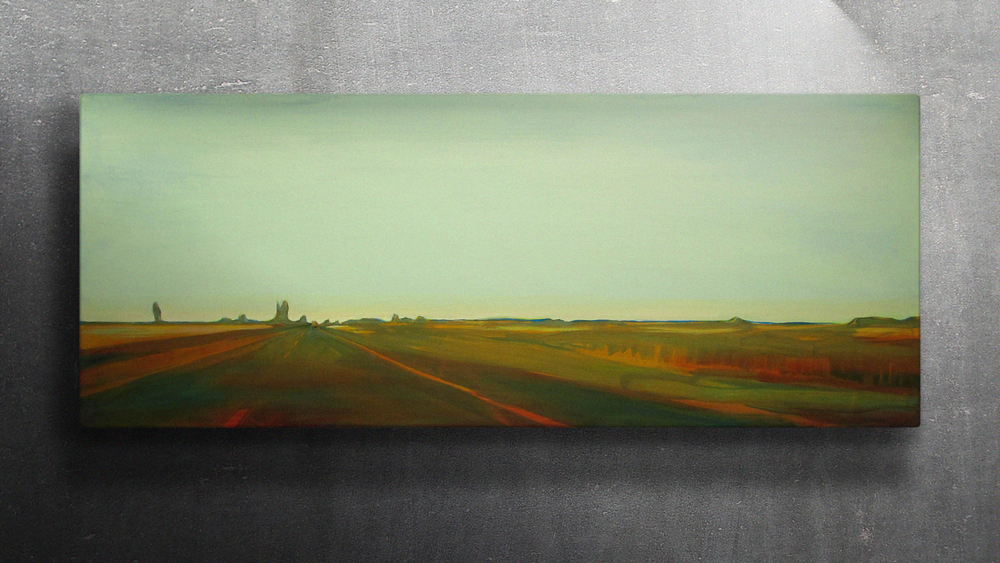 N11 NL 02  150x60cm Oil on canvas