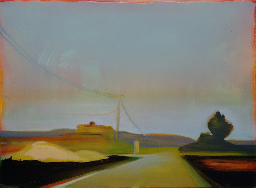 D57-FR-06  Acrylic and epoxy on canvas 60x80 cm