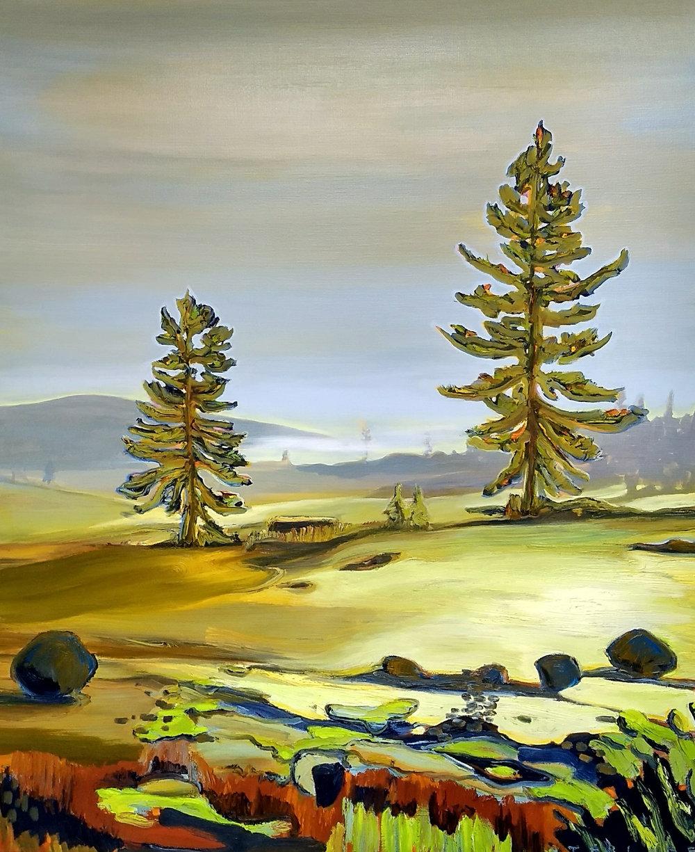 耶卢 100 x 120 cm 布面油彩
