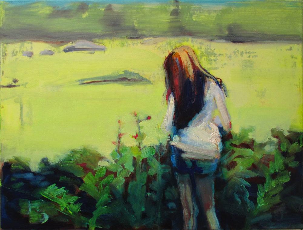 约瑟芬 30 x 40 cm 布面油彩
