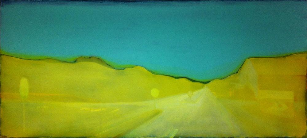 D57-FR-04  80x120 cm acrylic and epoxy on canvas