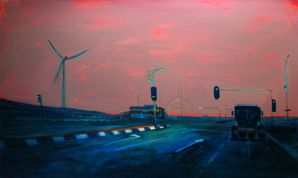 EUROPAWEG  120X200 cm Oil on canvas