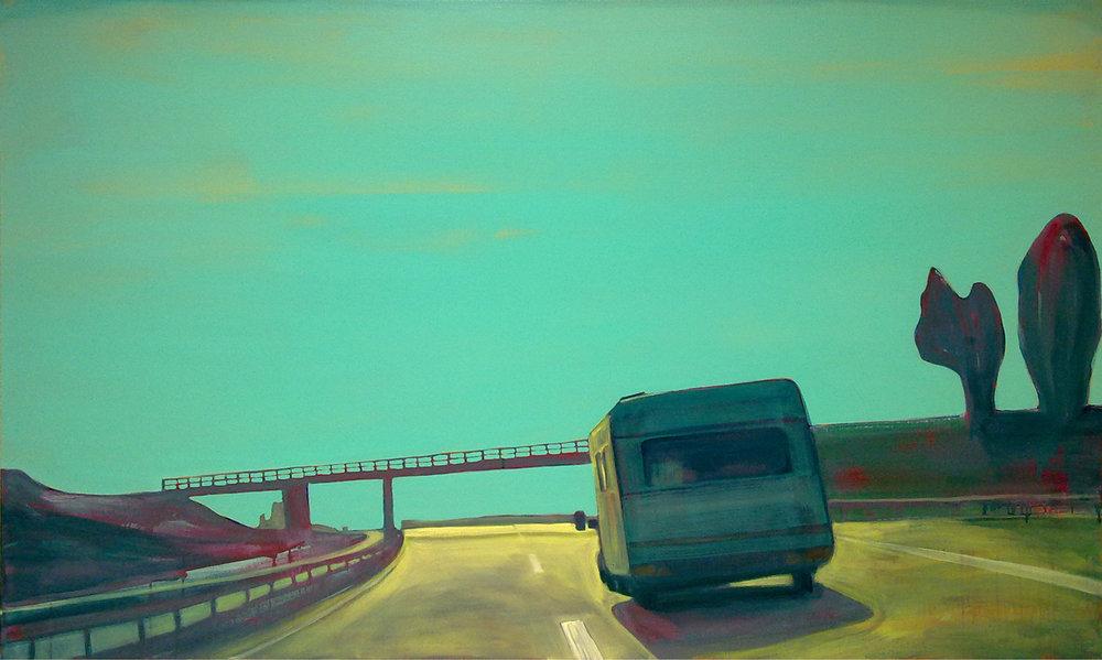 R2-B  120x200 cm oil on canvas