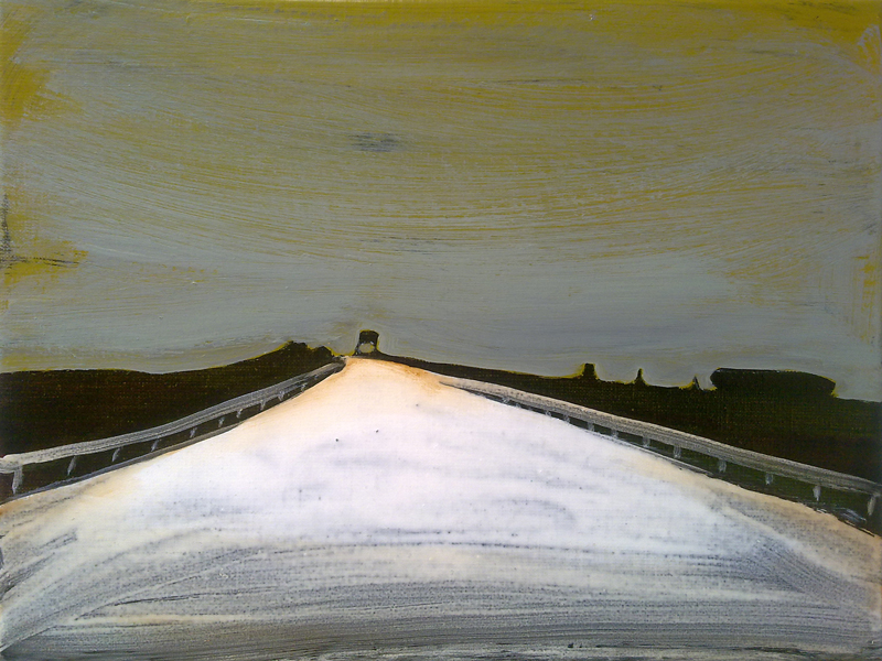 欧洲之路 马斯莱可迪 30 x 40 cm 布面油彩 已售