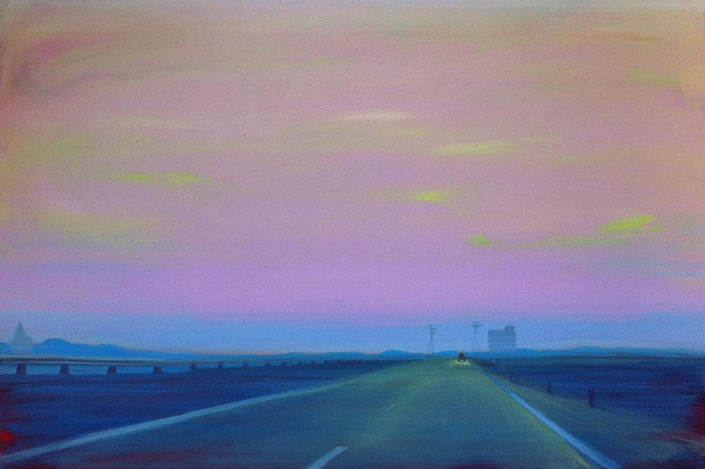 A6-NL-04  70x120 cm Oil on canvas
