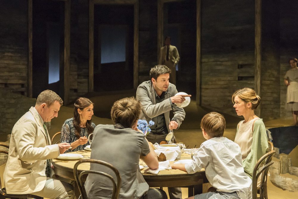 Members of the company in Ah, Wilderness! at the Young Vic. Photo by Johan Persson
