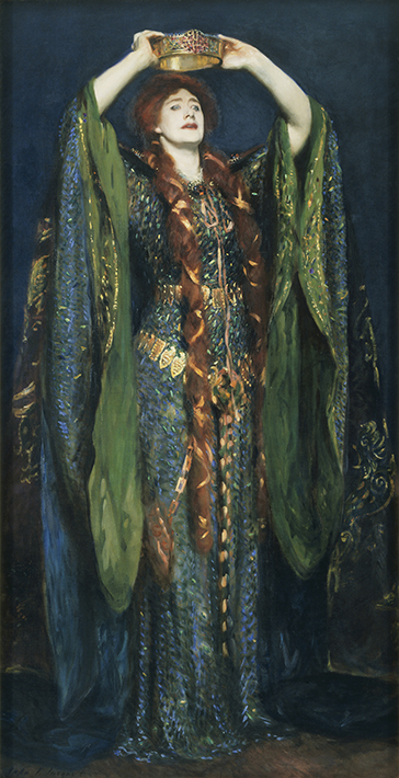 Ellen Terry as Lady Macbeth by John Singer Sargent, 1889 © Tate, London