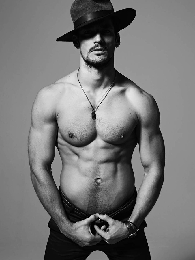 David Gandy for MODE Magazine, p  hotographed by Ram Shergill