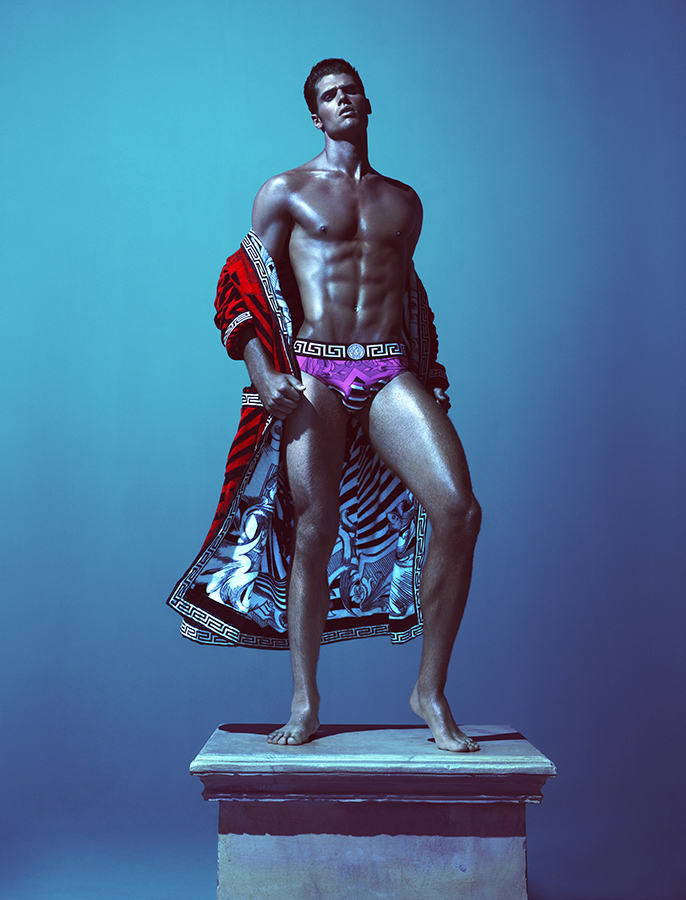 Brian Shimansky for Versace, photgraphed by Mert & Marcus