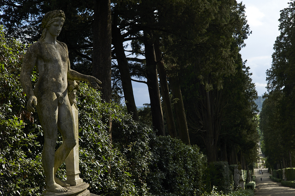 View of the Boboli Gardens, Florence