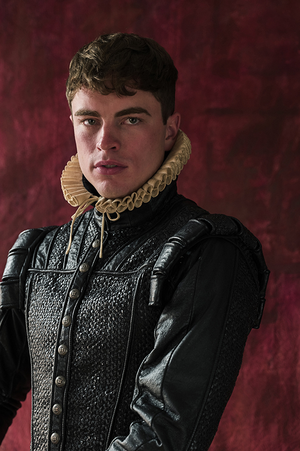 Tudor leather top and ruff by The Royal Shakespeare Company