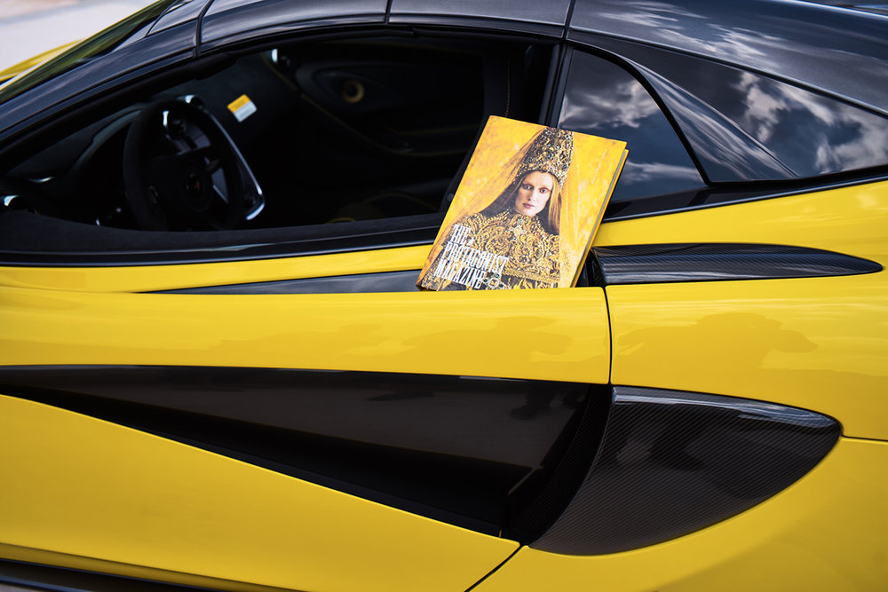 570s McLaren Spider, The Protagonist Magazine, Ram Shergill, Daen Palma Huse