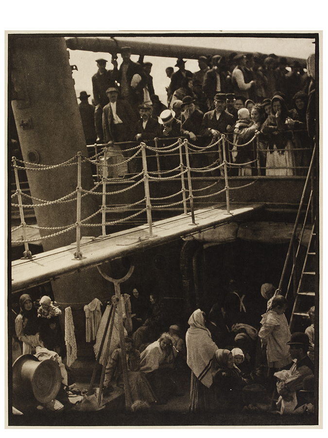 The Steerage Alfred Stieglitz, 1907. Gift of the Georgia OKeeffe Foundation, Victoria and Albert Museum London