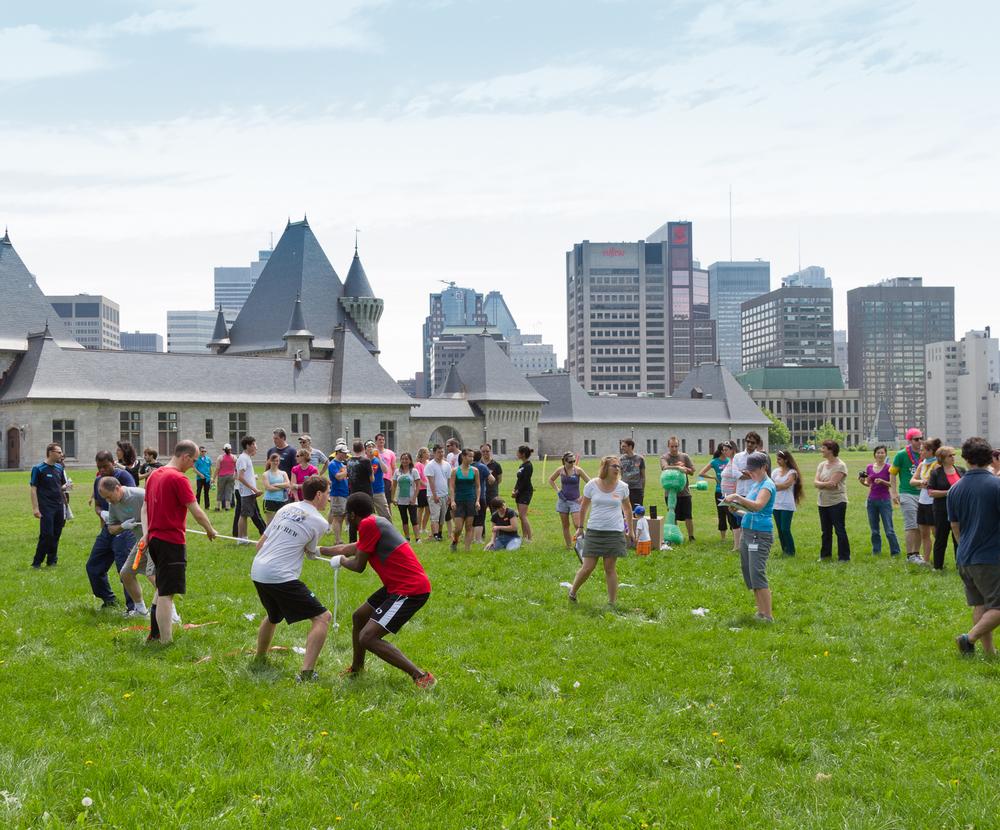 Génome Québec aux Genome Games à Montréal
