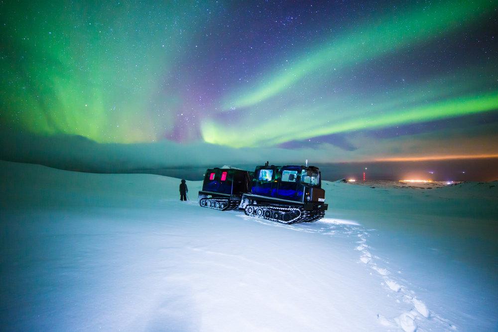 Copy of Northern Lights - Snowcat