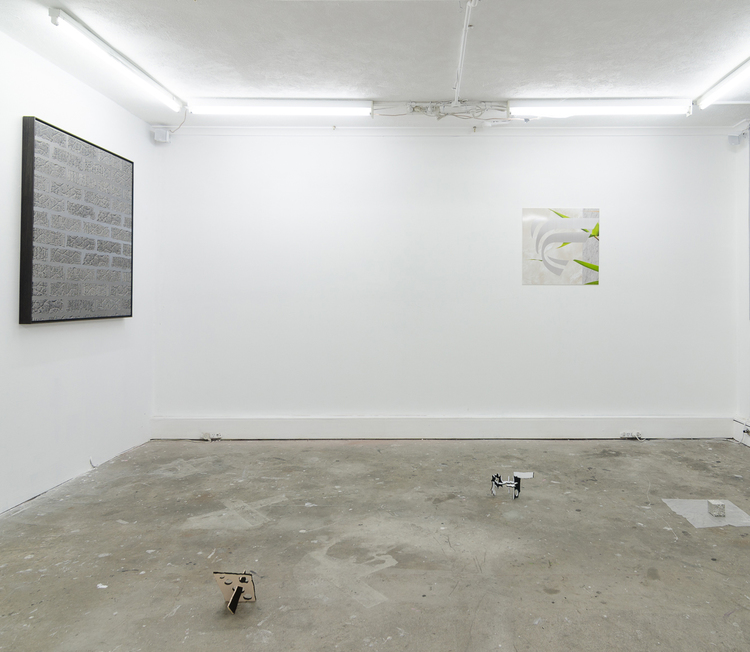 Installation view, 2014.