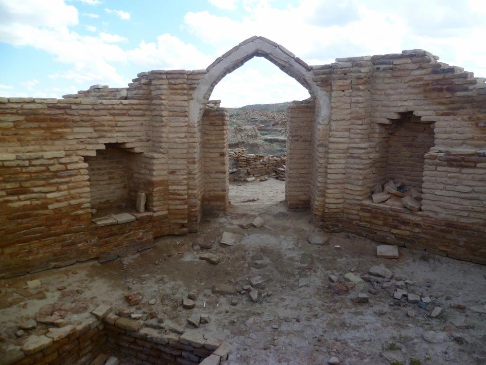 Ruins in Sauran, Kazakhstan