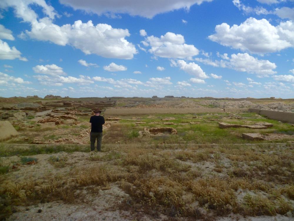 Johnathan admiring Sauran's Ruins.jpg