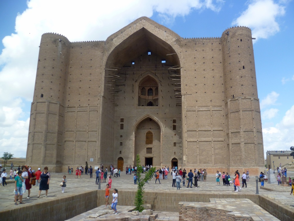 Mausoleum of Khoja Ahmed Yasawi Entrance.jpg